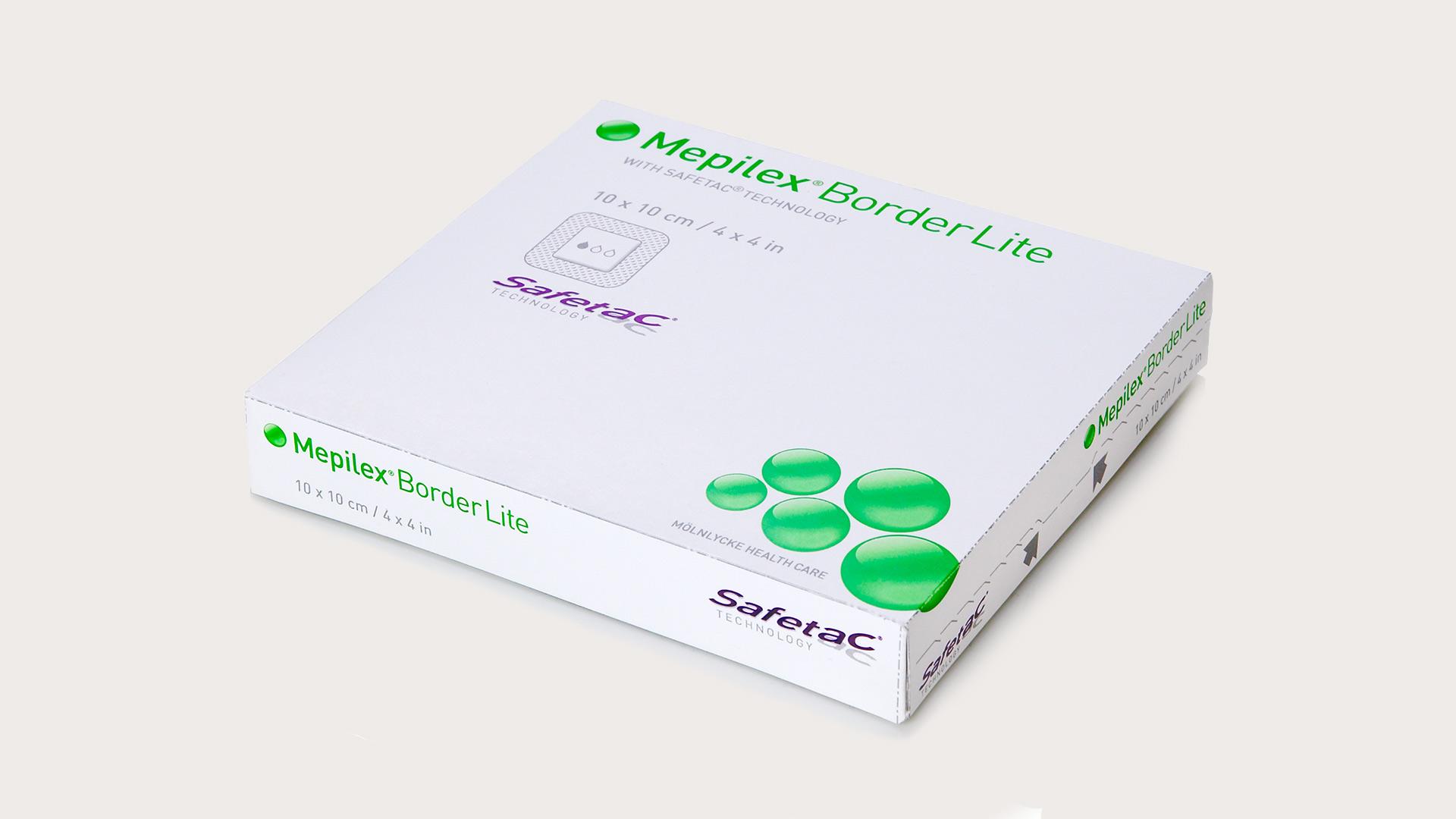 Mepilex Lite Silicone Foam Dressing 6x6 Box of 5