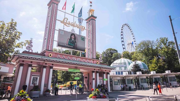 Liseberg theme park entrance
