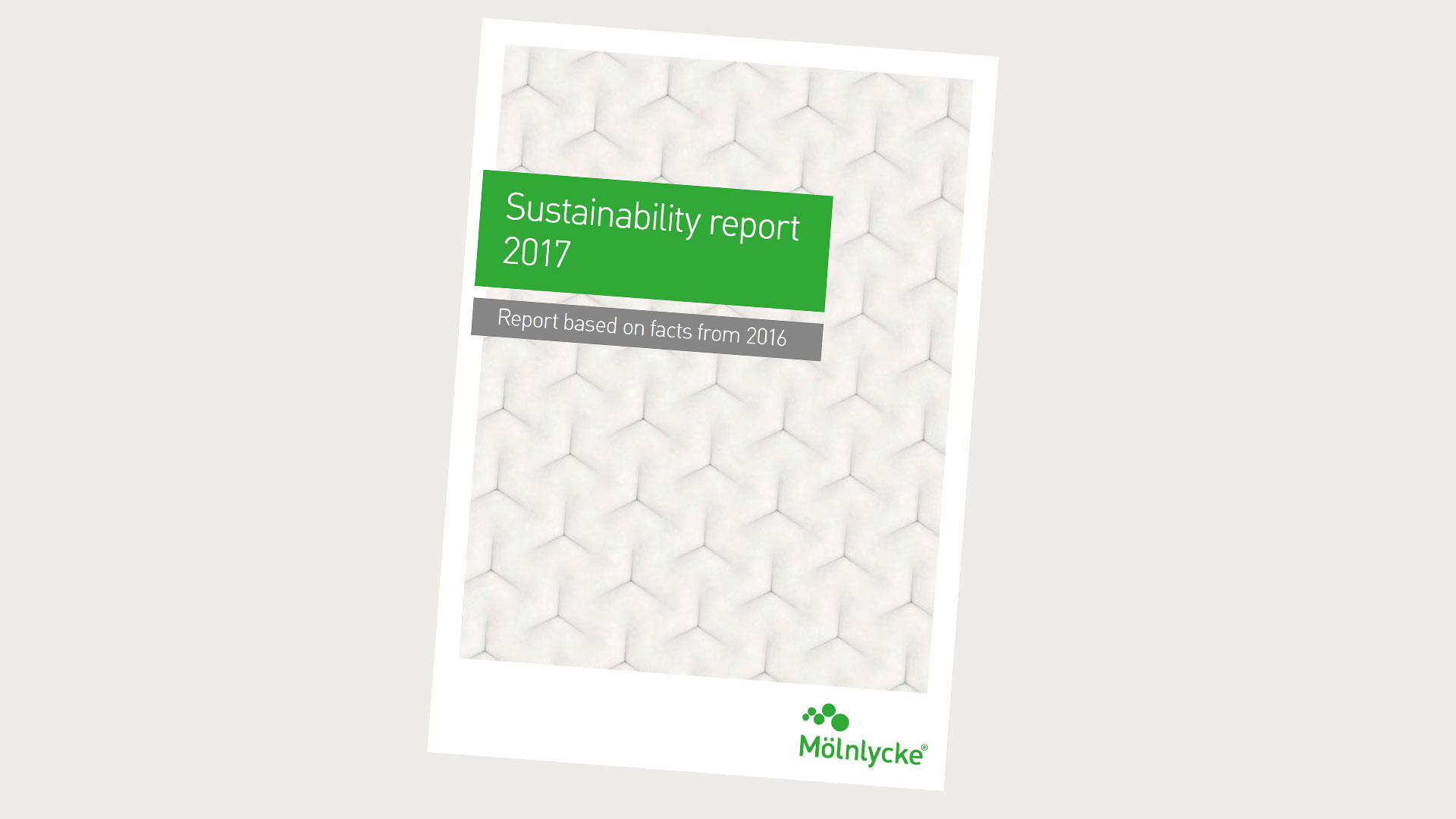 Mölnlycke sustainability report
